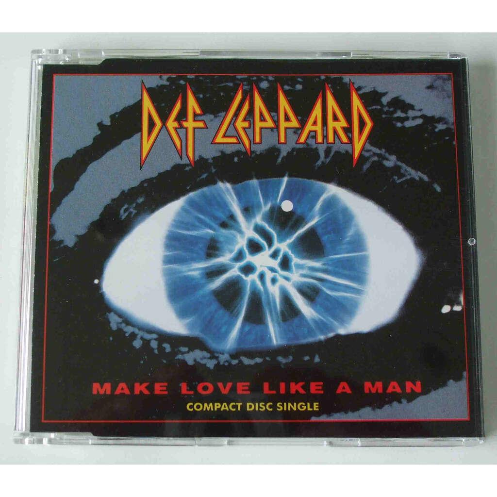 Def Leppard Make love like a man