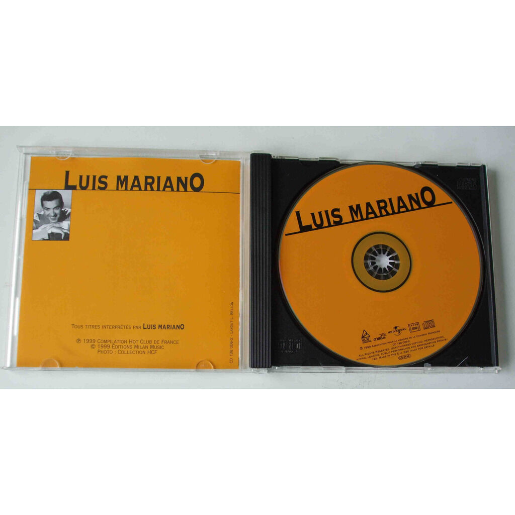 Luis Mariano Compilation Hot club de France