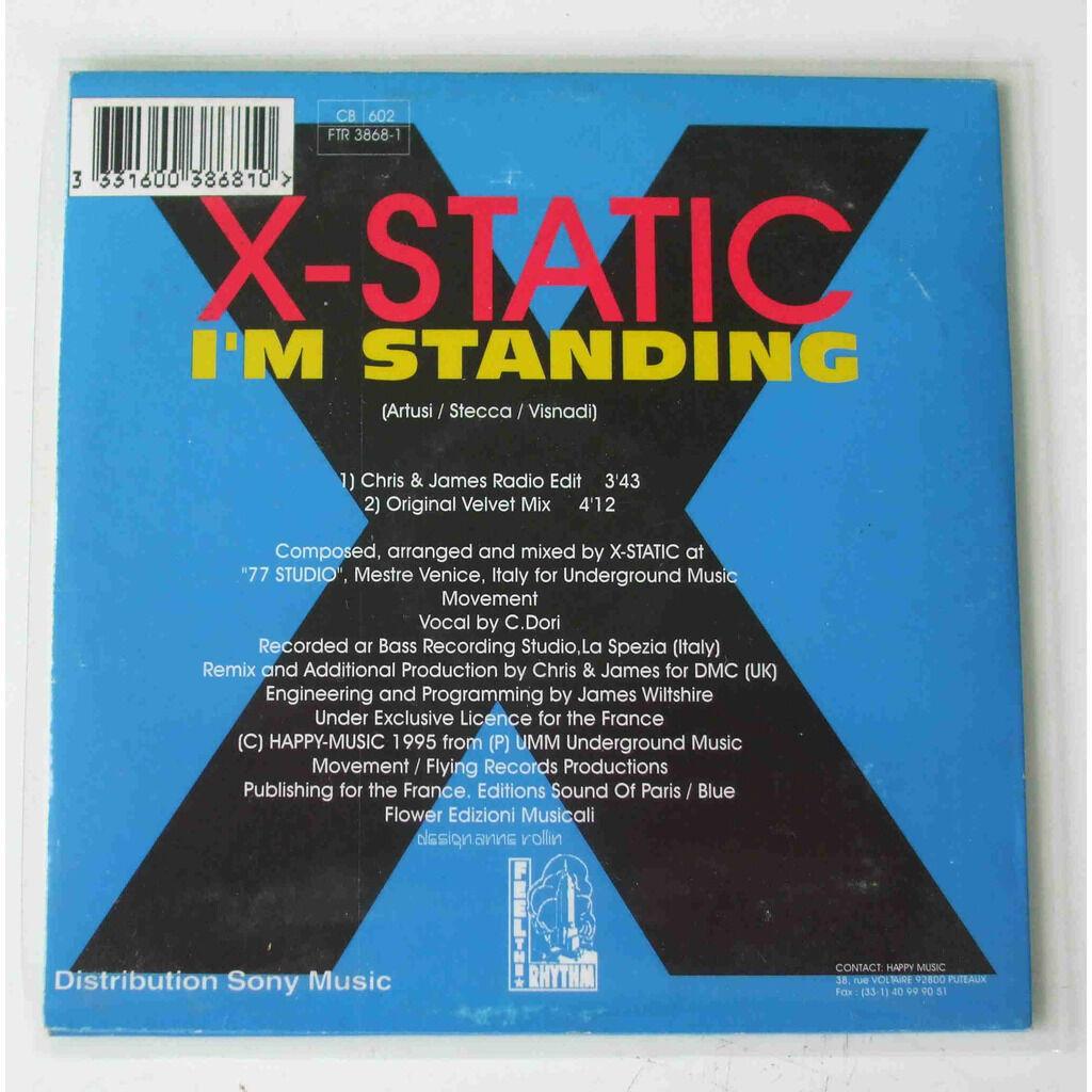 X-static I'm standing