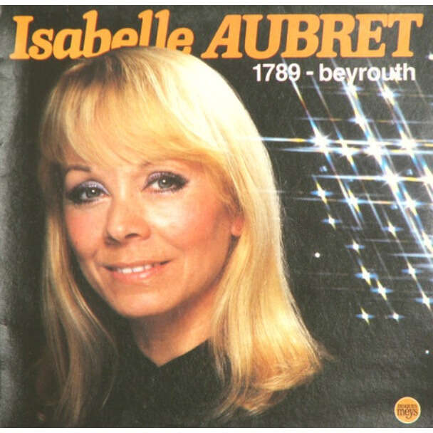 isabelle aubret 1789 - BEYROUTH
