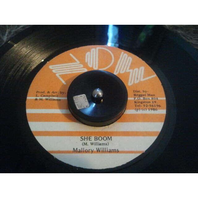 Mallory Williams She Boom / Version ORIG
