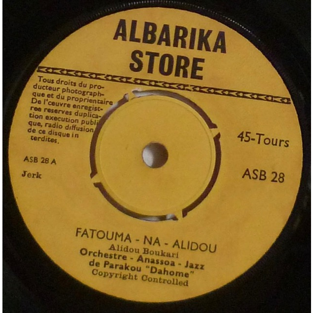 ORCHESTRE ANASSOA JAZZ DE PARAKOU Fatouma na alidou / Bake