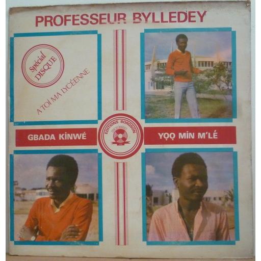 PROFESSEUR BYLLEDEY & POLY RYTHMO Gbada kinwe Yoo min m'le