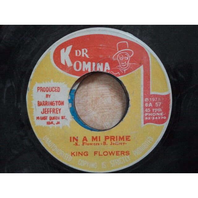 King Flowers / Revolutionaires In A Mi Prime / VERSION ORIG
