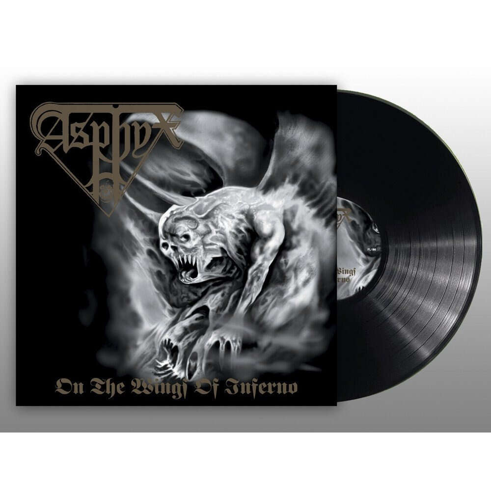 ASPHYX On the Wings of Inferno. Black Vinyl