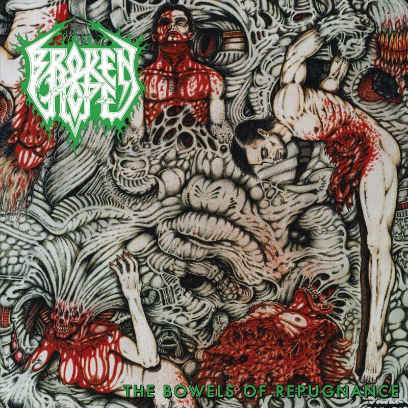 BROKEN HOPE The Bowels Of Repugnance. Black Vinyl