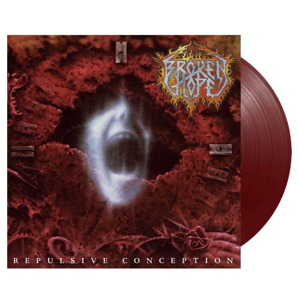 BROKEN HOPE Repulsive Conception. Oxblood Vinyl