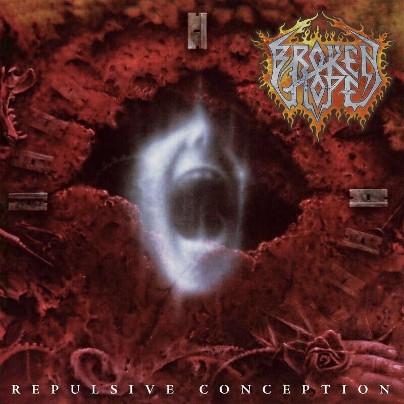 BROKEN HOPE Repulsive Conception. Black Vinyl