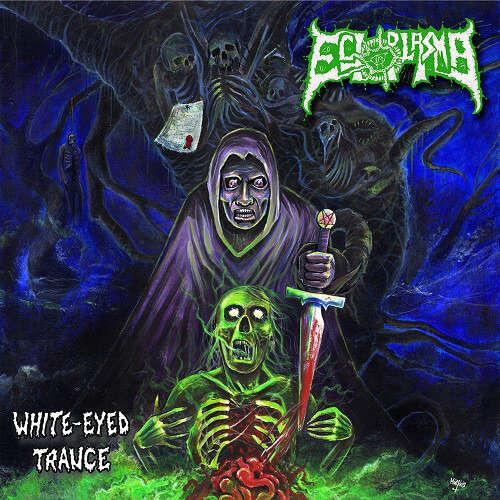 ECTOPLASMA White-Eyed Trance. Blue Vinyl