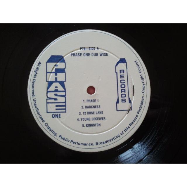 Roy Francis Phase One Dub-Wise ORIG