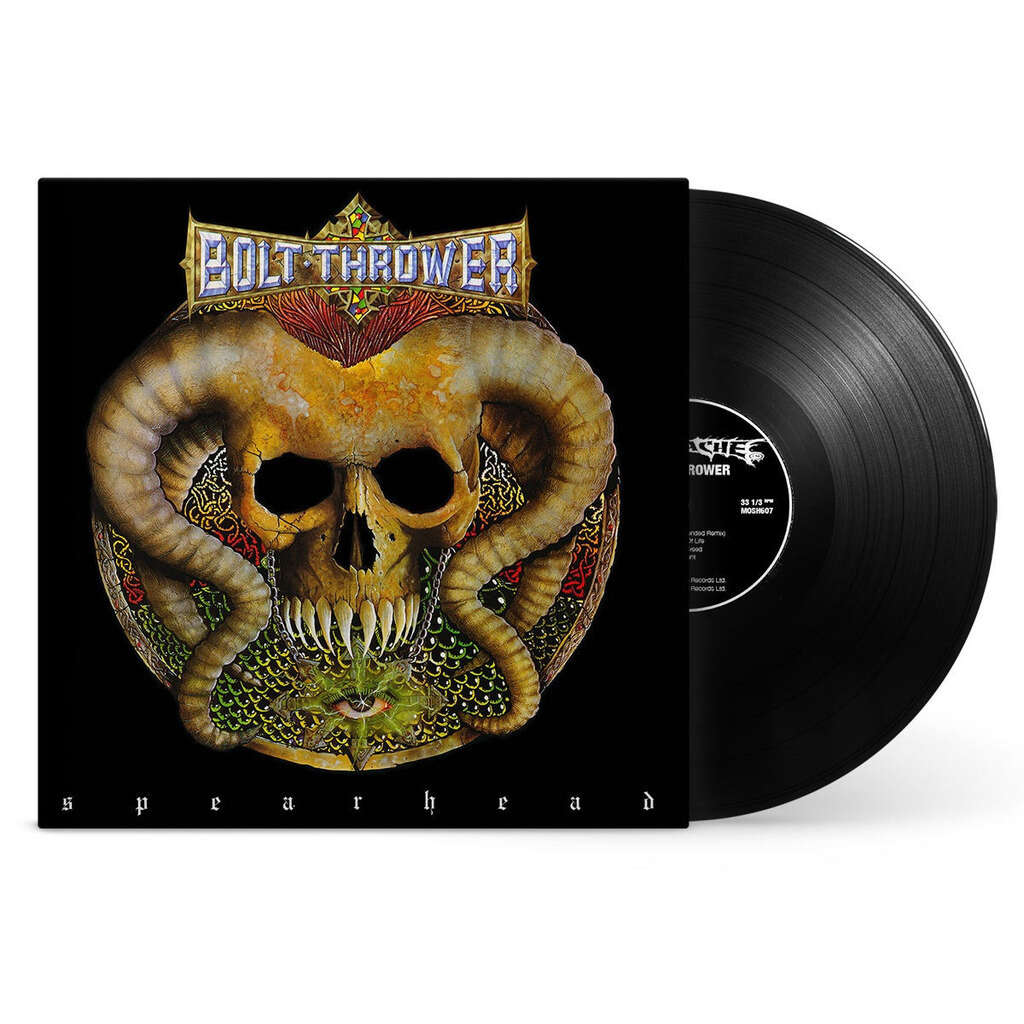 BOLT THROWER Spearhead - Cenotaph. Black Vinyl