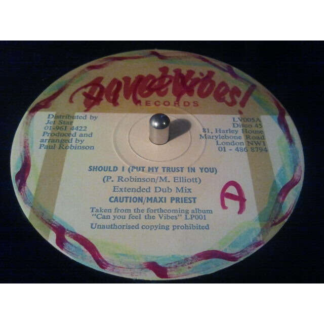 Caution / Maxi Priest Should I (Put My Trust In You) (12) ORIG