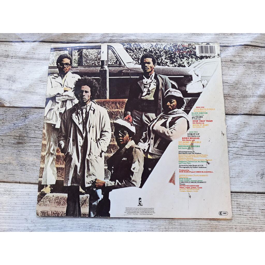 Bob Marley And The Wailers* - Catch A Fire (LP, Al Catch A Fire .1973.