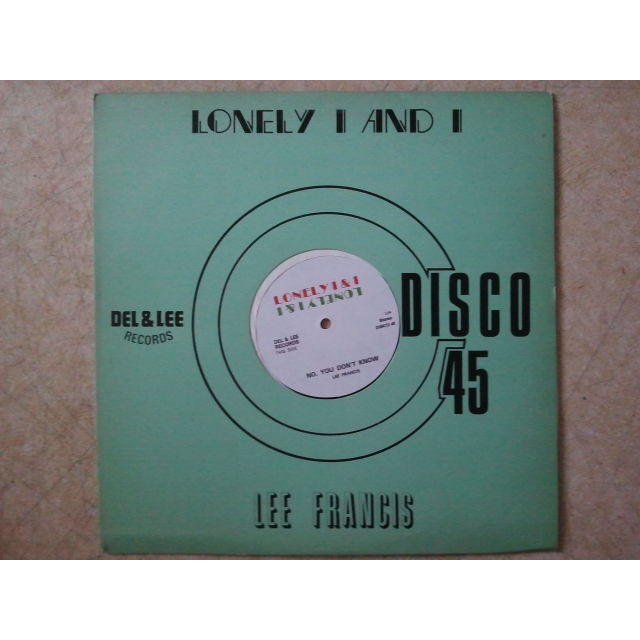 LEE FRANCIS Throwing Stones / No, You Don't Know ORIG