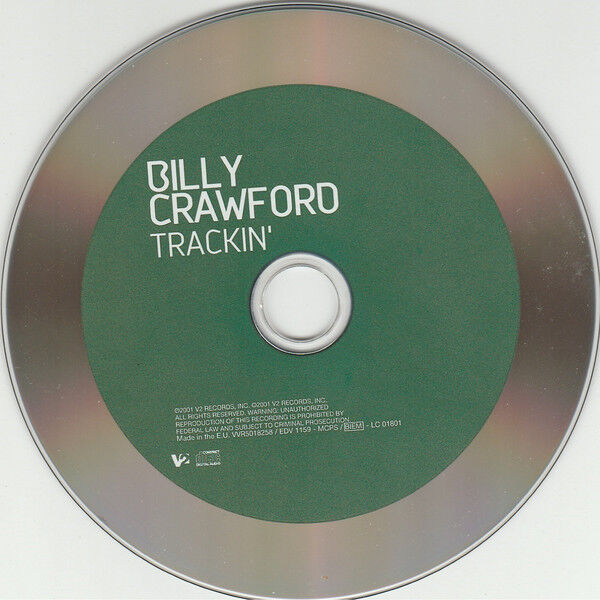 BILLY CRAWFORD TRACKIN' ( + Video Trackin' )
