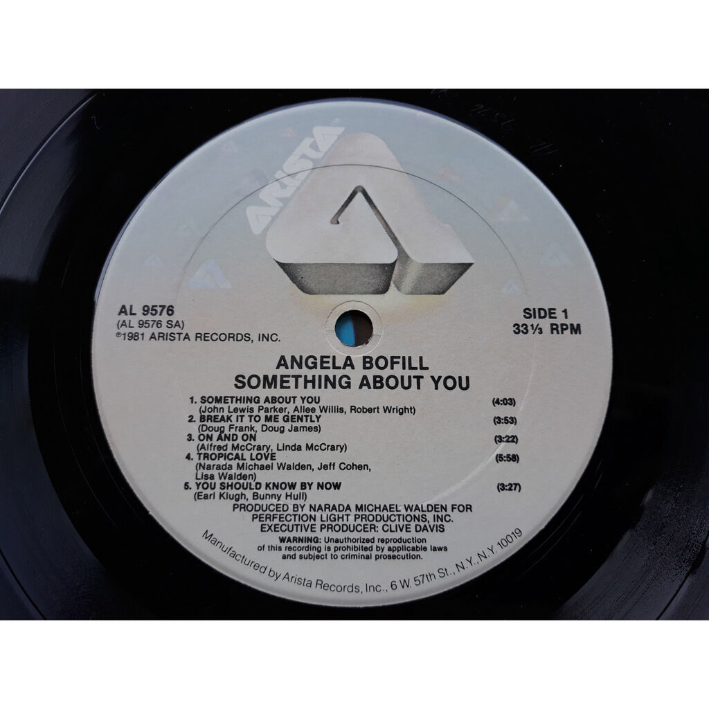 Bofill, Angela Something About You.1981.