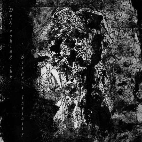 HERESIARCH / ANTEDILUVIAN Defleshing the Serpent Infinity. Black Vinyl