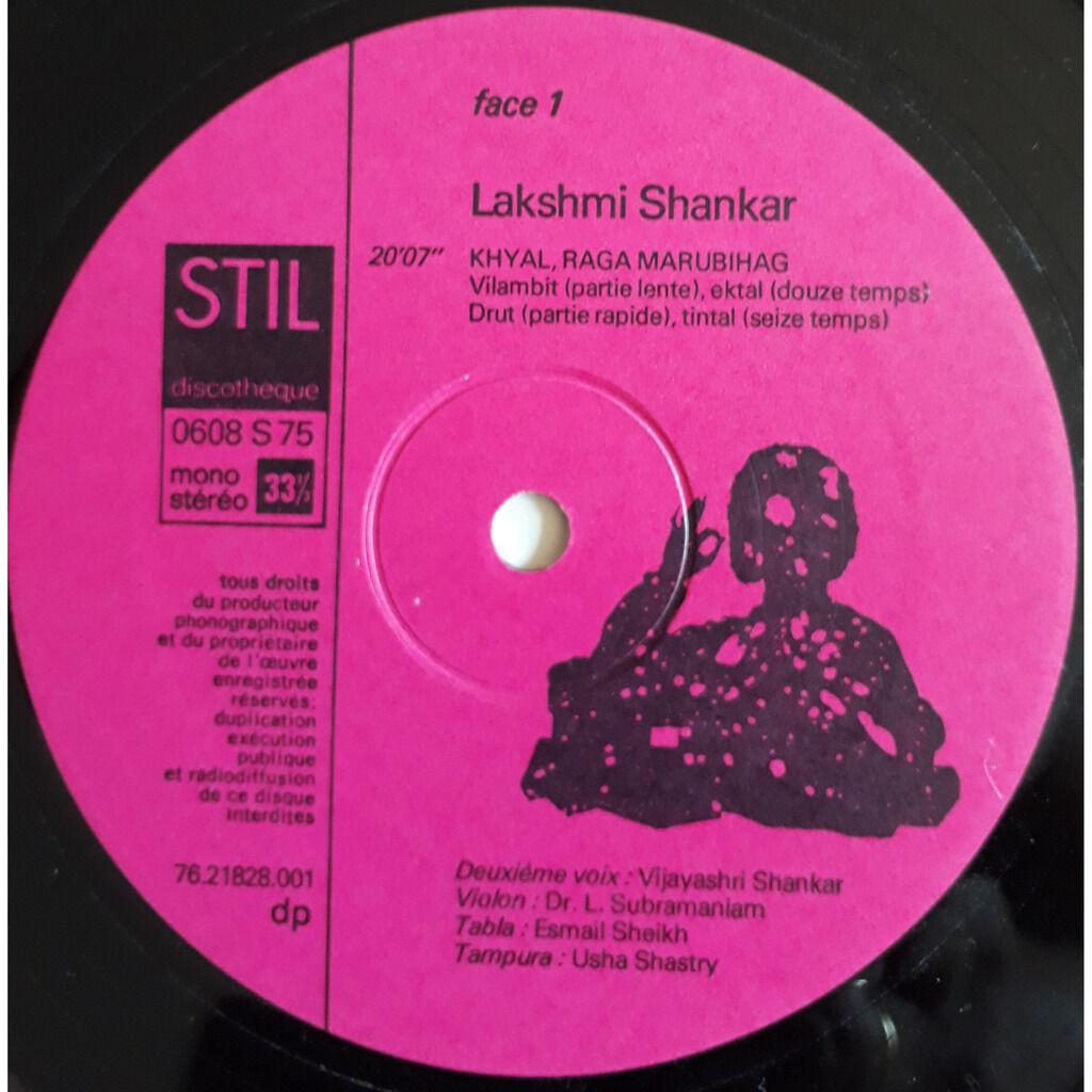 Lakshmi Shankar Le Chant Indien Classique Et Dévotionnel