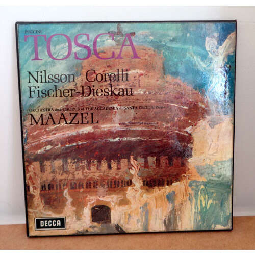 MORIN MAAZEL & BIRGIT NILSSON PUCCINI La tosca