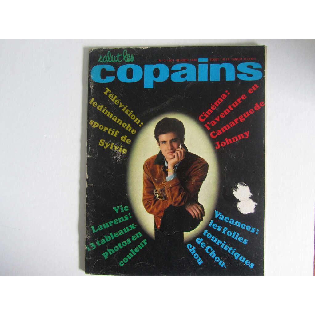 vic laurens - vartan - hallyday - sophie etc . SALUT LES COPAINS MAGAZINE n° 13 COMPLET .