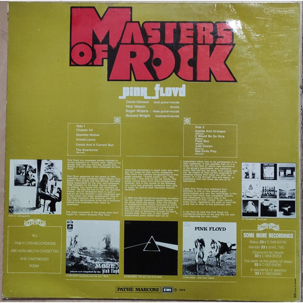 Pink Floyd Masters Of Rock