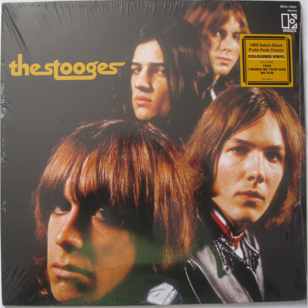 THE STOOGES The stooges ( limited: transparent marbled vinyl - never played )