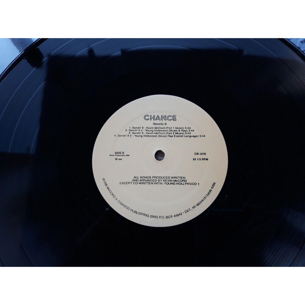 various soul Very Well / Time / Servin' It (12)1990.