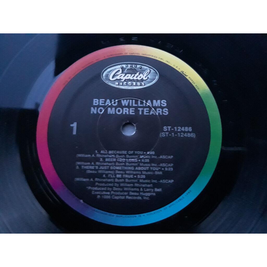 beau williams no more tears.1986.
