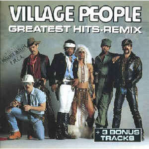 VILLAGE PEOPLE - GREATEST HITS-REMIX (FR. PRESSING 1 CD)