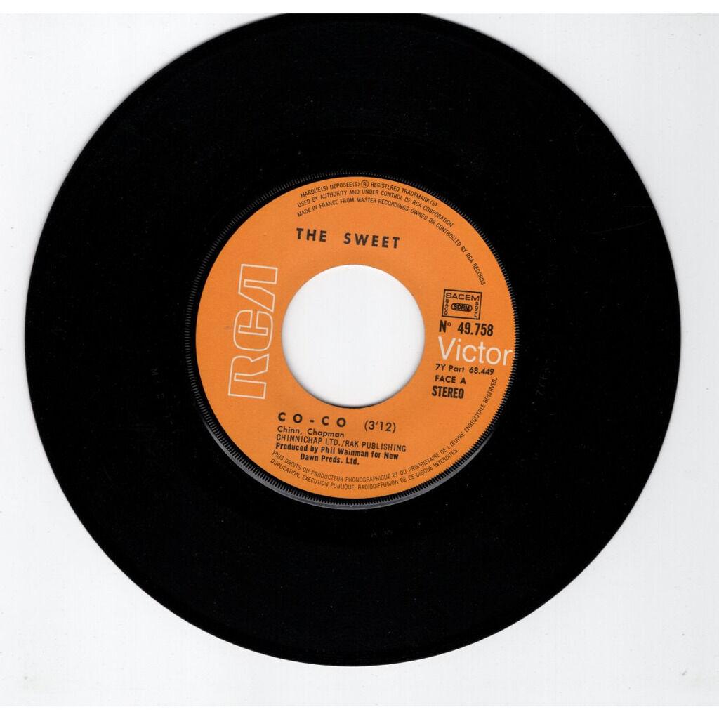 The Sweet Co-co - NO flipback & NO Hit parade série