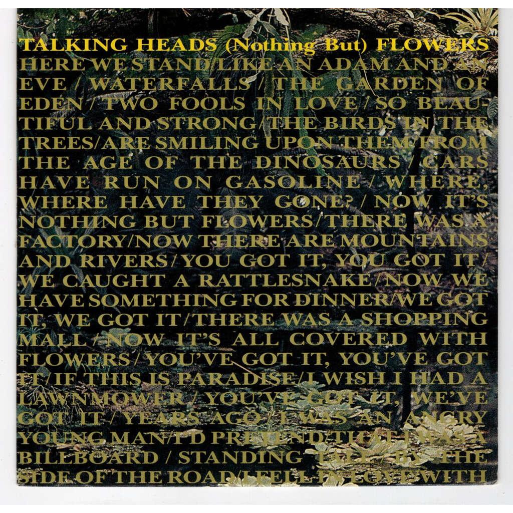 Talking Heads Flowers