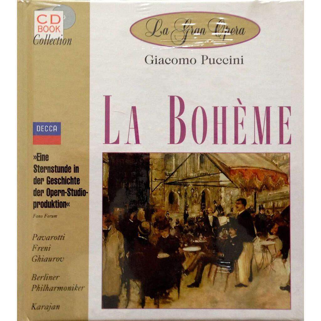 Puccini, Giacomo La Bohème / Luciano Pavarotti, Mirella Freni, Rolando Panerai, Berlin PO, Herbert von Karajan