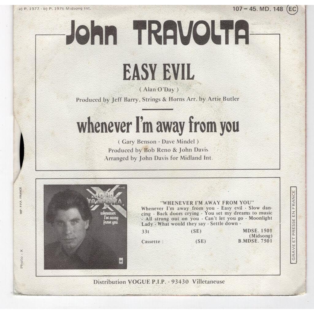 John Travolta Easy evil