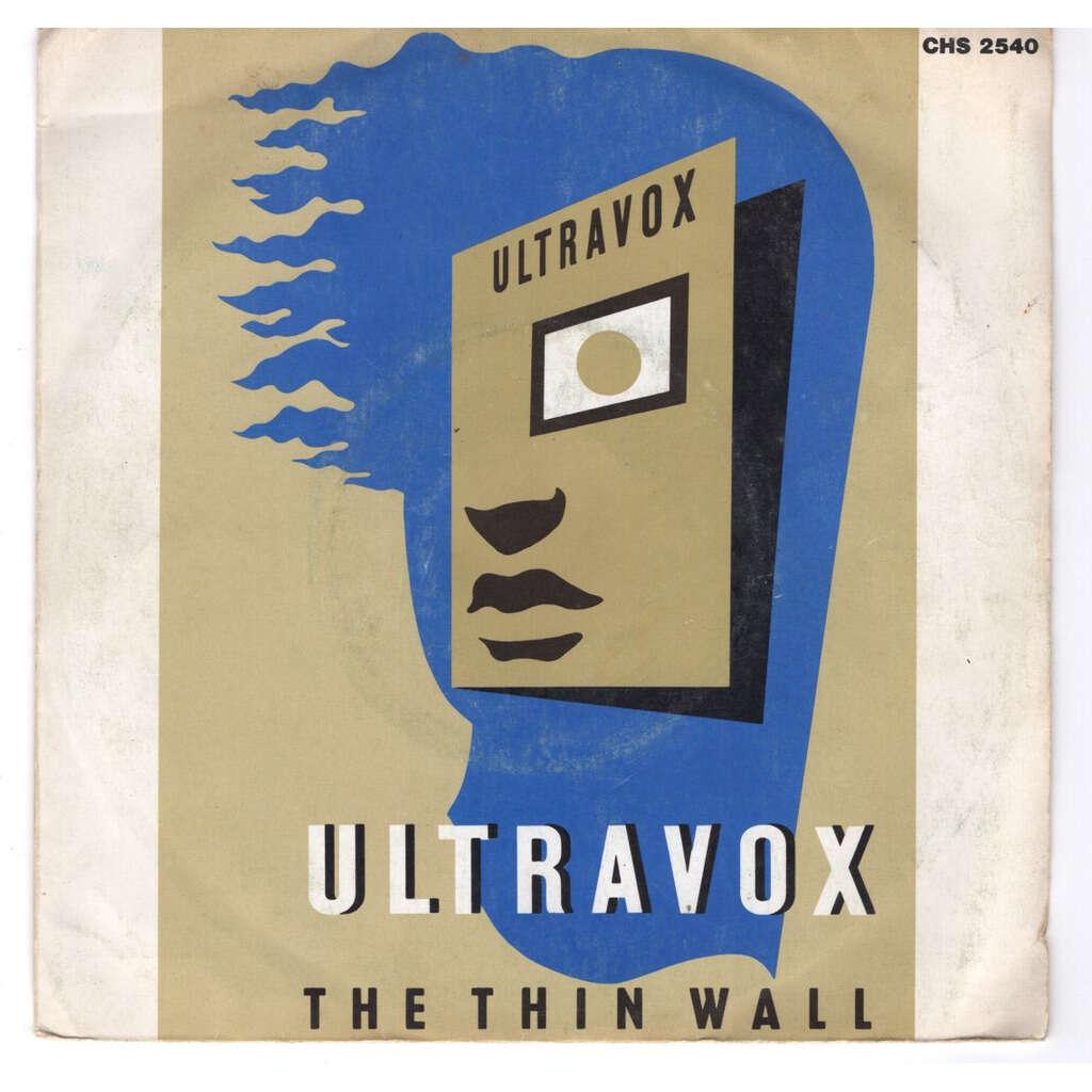 Ultravox The thin wall