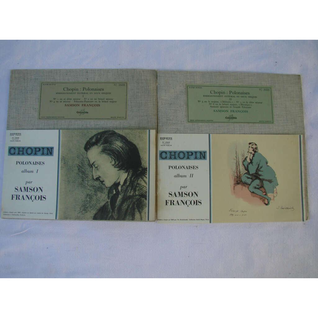 Samson François, piano Chopin : polonaises - Enregistrement integral en 2 disques