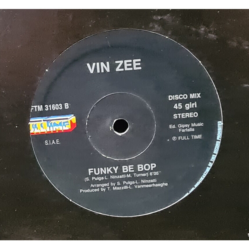 JIMMY ROSS / VIN ZEE FIRST TRUE LOVE AFFAIR / FUNKY BEEBOP