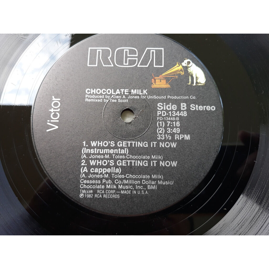 CHOCOLATE MILK who s getting it now.1982.