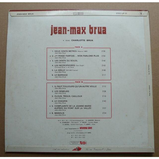 Jean-Max Brua Jean-Max Brua
