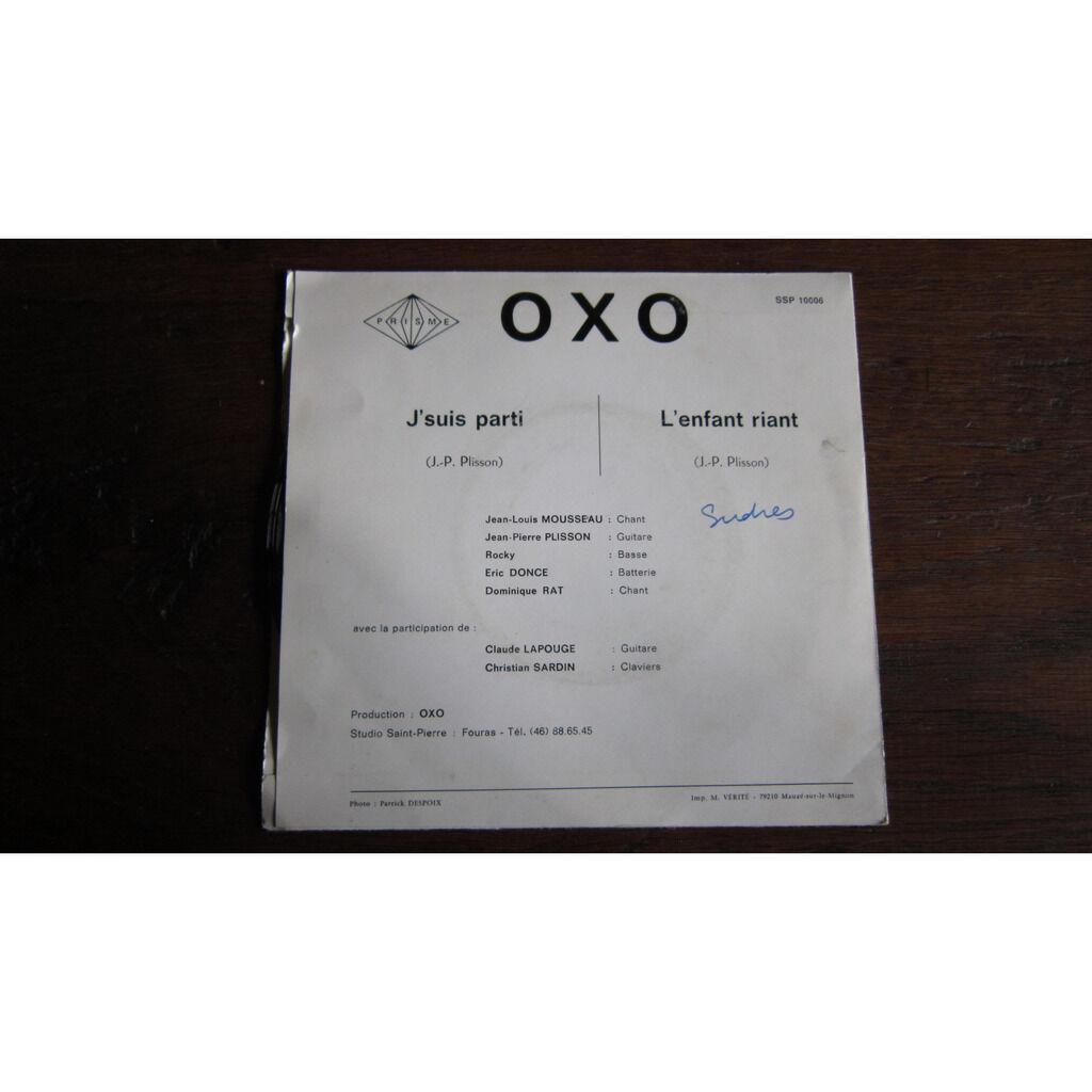 Oxo J'suis parti