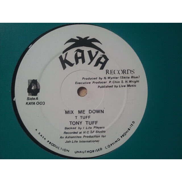 Tony Tuff Mix Me Down / Wa-Dem-A-Go-Do ORIG
