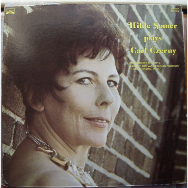 hilde somer czerny: piano sonata no. 1 op. 7 / fantasy and variations op. 377