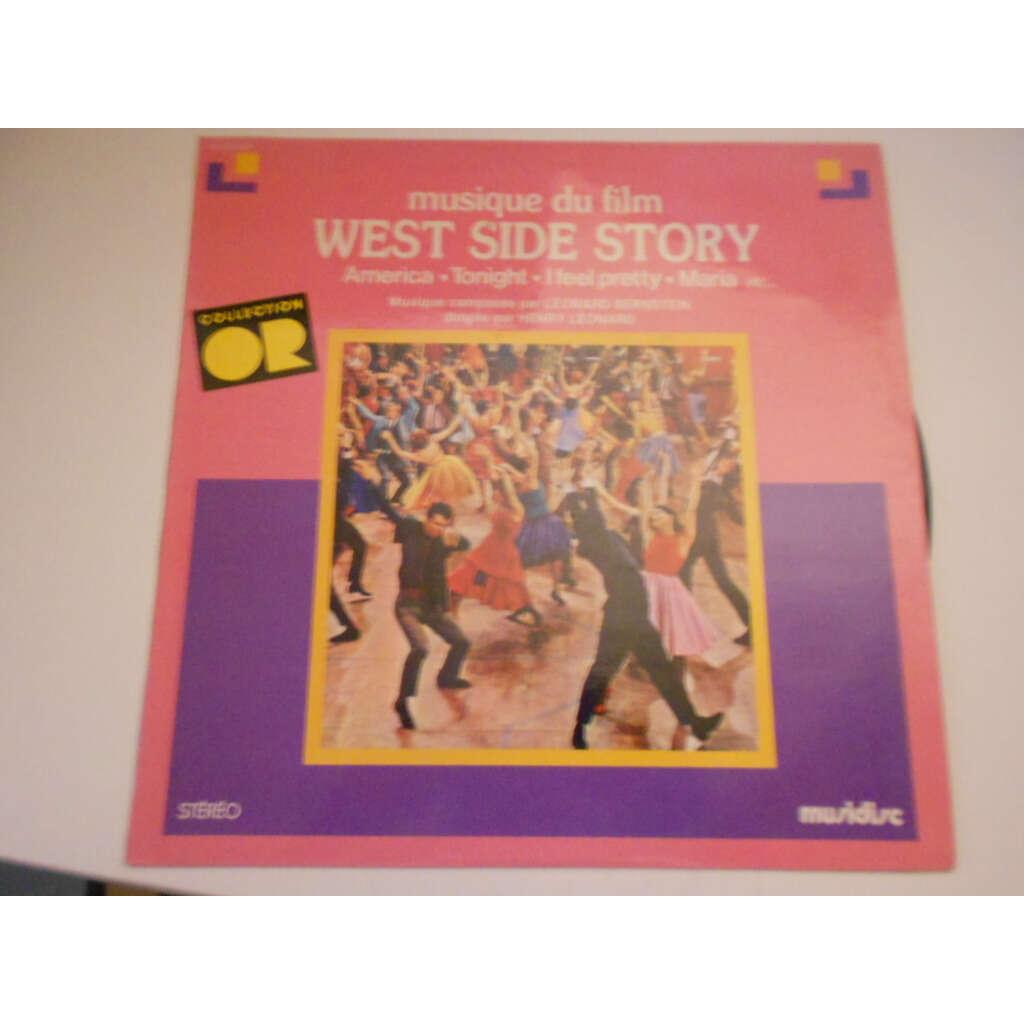 leonard bernstein henry leonard west side story collection or