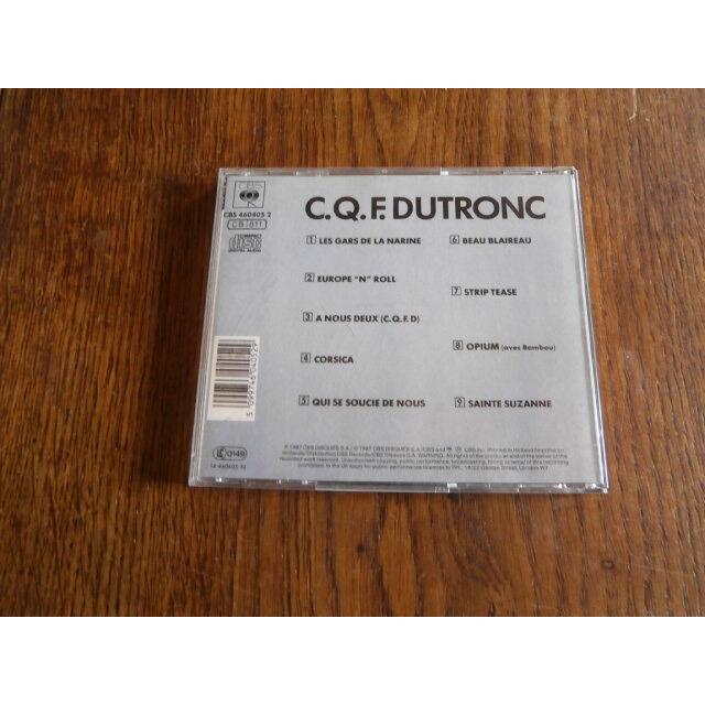 jacques dutronc C.Q.F.Dutronc