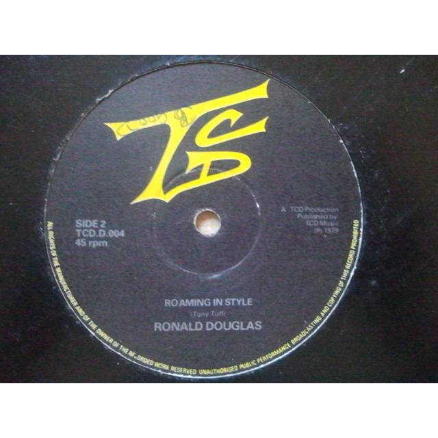 Tony Tuff / Ronald Douglas Stop My Roaming / Roaming In Style ORIG