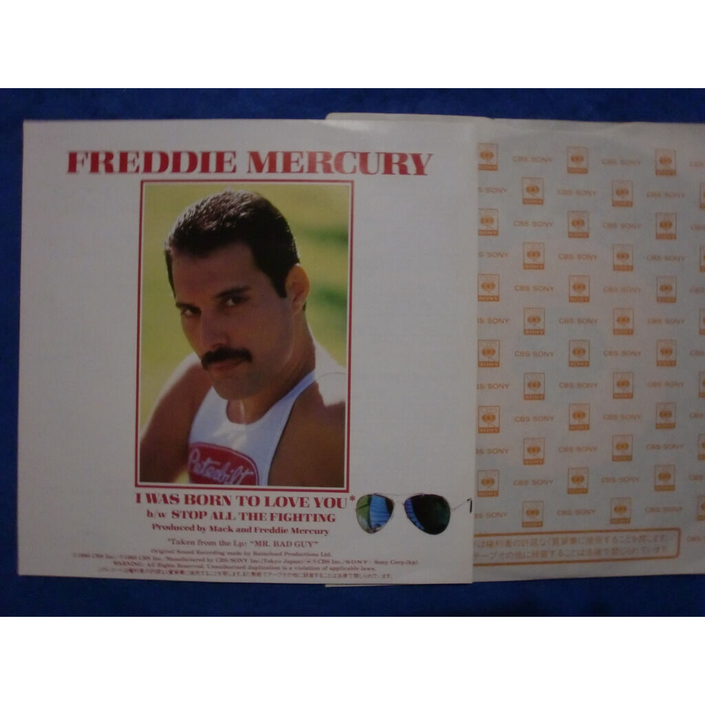 freddie mercury / queen i was born to love you / stop all the fighting
