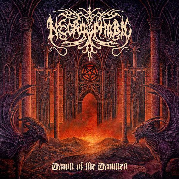 NECROPHOBIC Dawn of the Damned. Black Vinyl