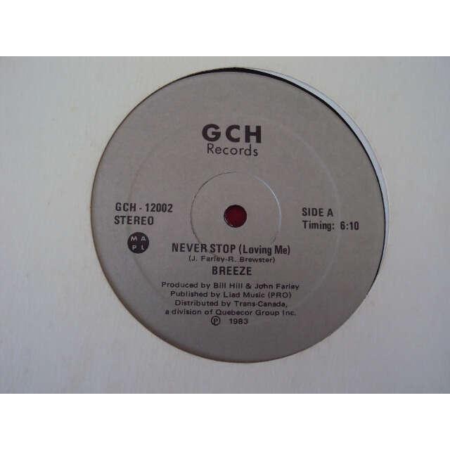 BREEZE NEVER STOP (LOVING ME) 1983 CANADA