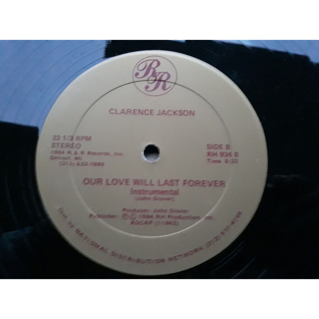 Clarence Jackson Our Love Will Last Forever.1984.