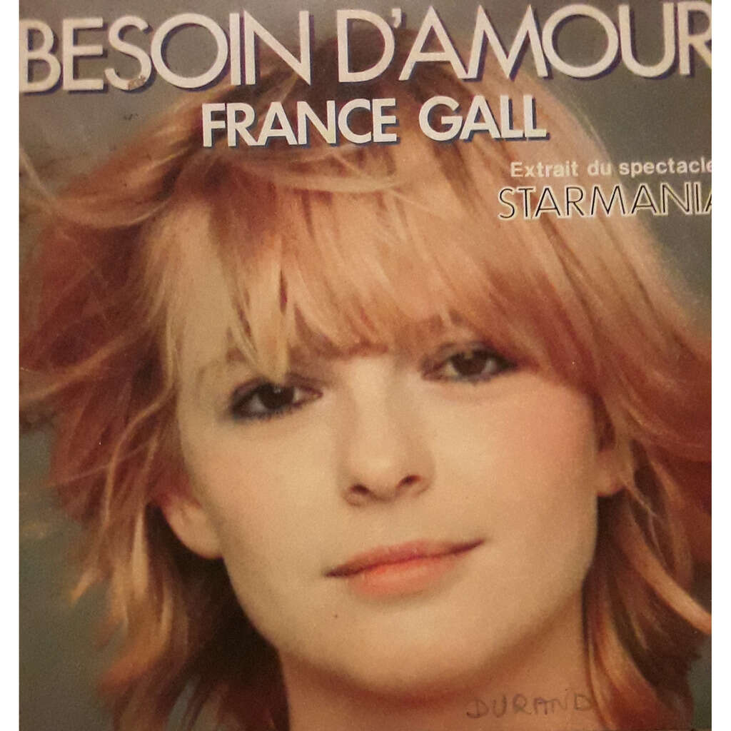 FRANCE GALL BESOIN D'AMOUR/MONOPOLIS