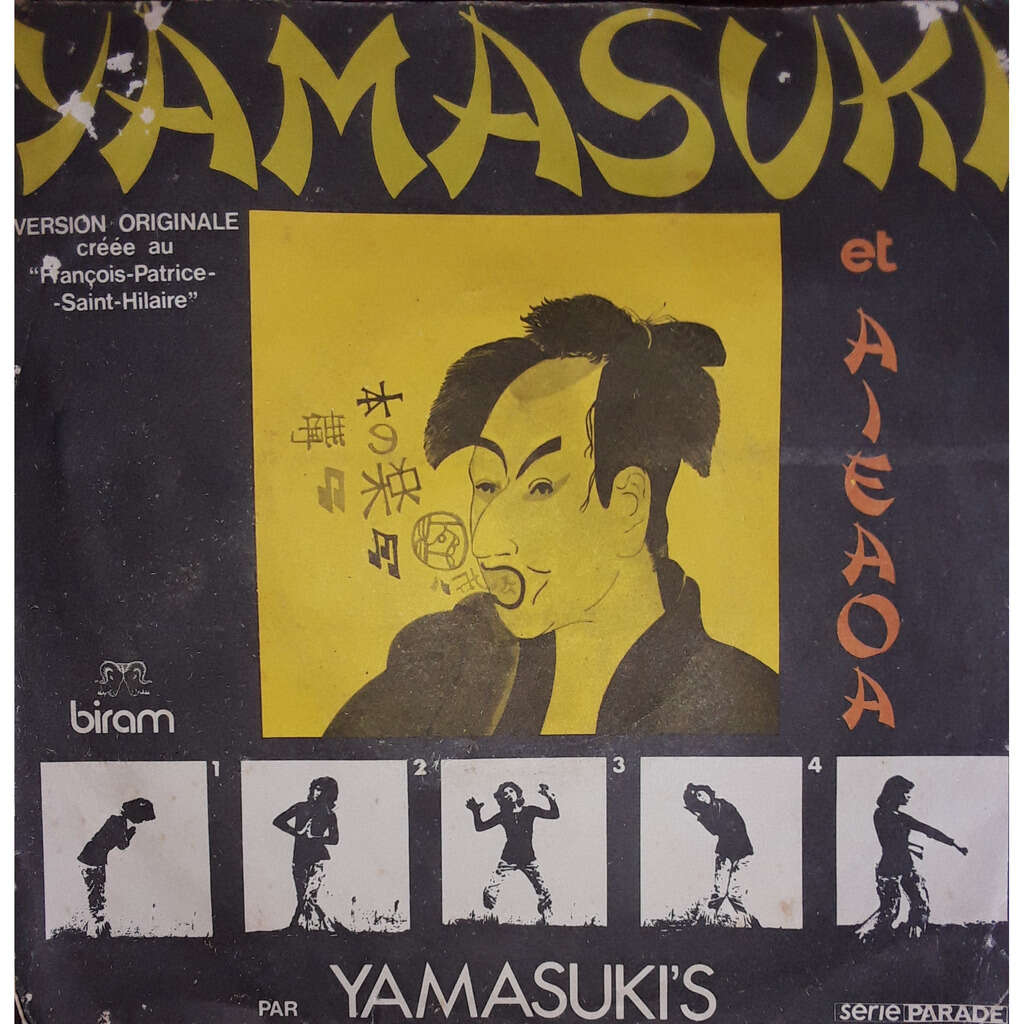 Yamasuki's Yamasuki / aieaoa - version originale créée au Francois Patrice Saint hilaire